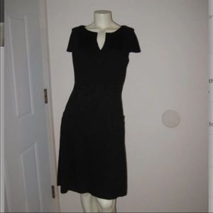 Beautiful Ellen Tracy Black Dress with pockets